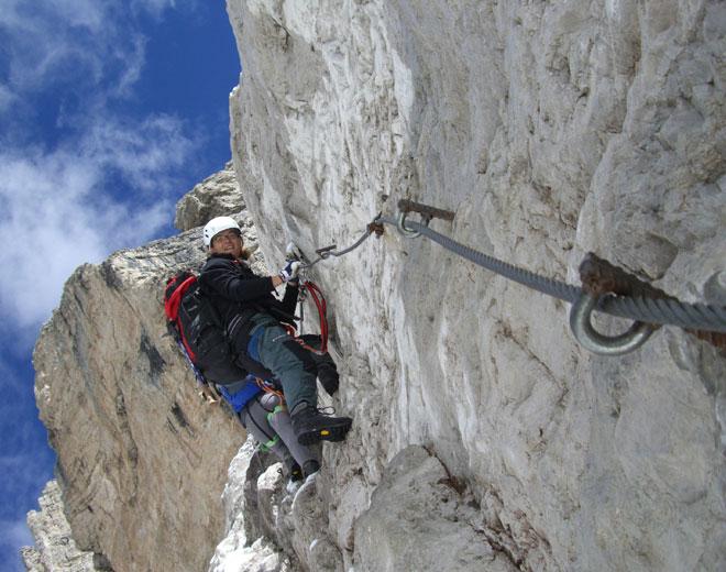 Klettersteig Priel : Klettersteigwochenende großer priel